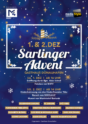 Plakat Advent Sarling
